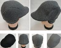 Warm Ivy Cap with Ear Flaps [Wool-Like Solid Color]